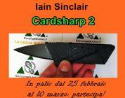 Ultimo giorno per vincere un CardSharp 2 di Iain Sinclair