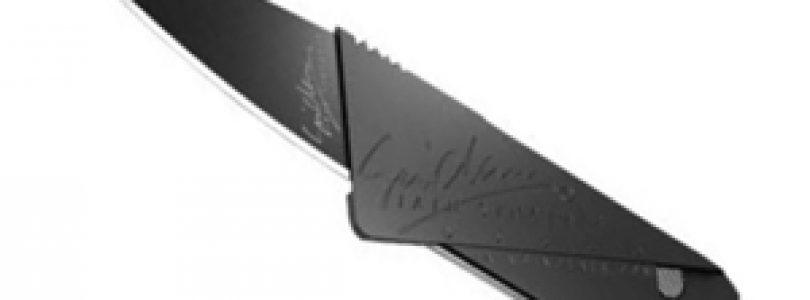 Cardsharp 2 coltello carta di credito