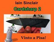 Vinto il coltello Cardsharp 2: vola a Pisa!
