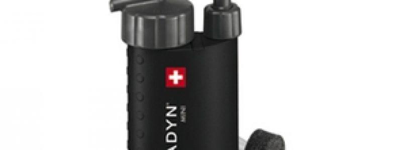 Katadyn Mini: microfiltro per pura avventura.