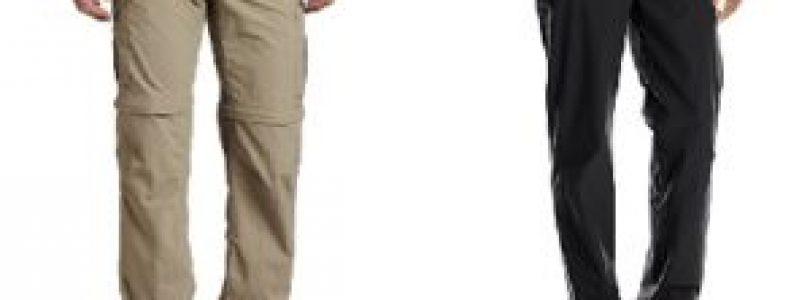 Pantaloni convertibili Columbia Silver Ridge Convertible e ExOfficio Kukura